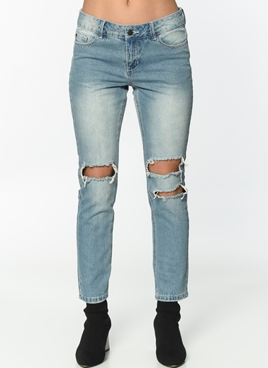 Jean Pantolon | Ten - Straight-Vero Moda